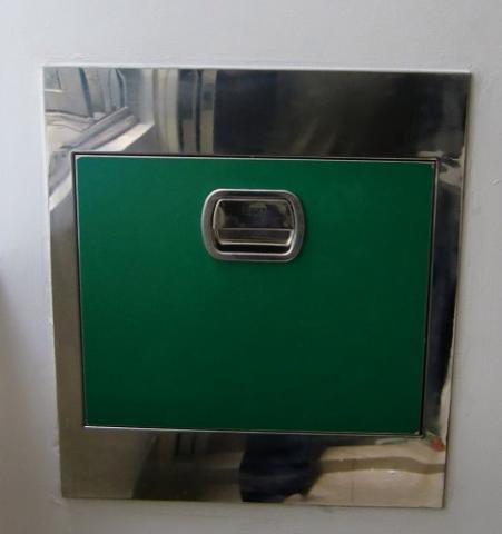 Dustbin, stainless steel dustbin, refuse chute, hopper, rubbish chute